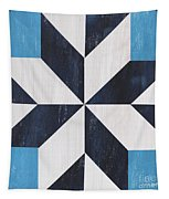 Indigo And Blue Quilt Tapestry
