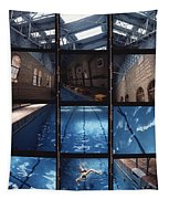 Indoor Pool Tapestry