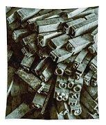 Industrial Letterpress Typeset  Tapestry