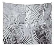 Infrared Palm Abstract Tapestry