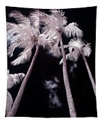 Infrared Palm Trees Tapestry