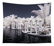 Infrared Pool Tapestry