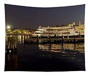 Inner Harbor Tour Boat Tapestry