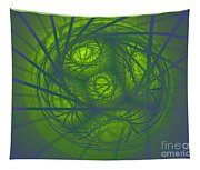 Inner Light Spiral Sanctum Tapestry