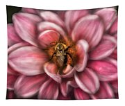 Insect - Bee - Center Of The Universe  Tapestry
