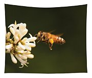Insect - Bee - Honey I'm Home Tapestry