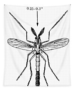 Insect: Midge Tapestry