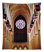 Inside The National Cathedral Tapestry
