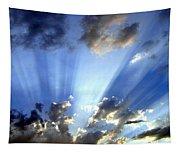 Inspiring Sunburst Tapestry