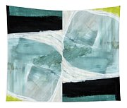 Intersection 37 Part 2- Art By Linda Woods Tapestry