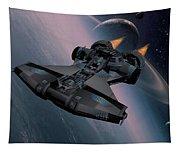 Interstellar Spacecraft Tapestry