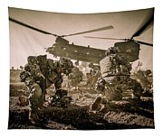 Into Battle-sepia Tapestry