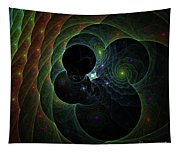Into Space And Time Tapestry