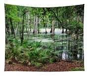 Into The Green Swamp Tapestry