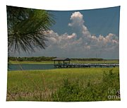 Intracoastal Water In Sullivan's Island South Carolina Tapestry