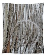 Intriguing Winter Frost Tapestry