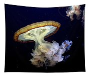 Invasion Of The Japanese Sea Nettles Tapestry