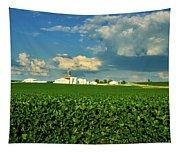 Iowa Soybean Farm Tapestry