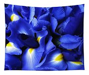 Iris Abstract Tapestry