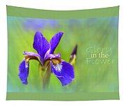 Iris Elegance Tapestry