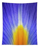 Iris Leaf Abstract Tapestry