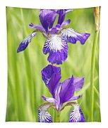 Iris Pair Tapestry