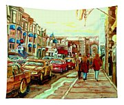 Irish Pubs And Bistros Downtown Montreal Tapestry