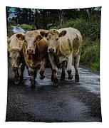 Irish Traffic Jam Tapestry by James Truett