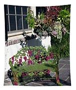 Iron Garden Bench Tapestry