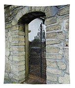 Iron Gate To The Garden Tapestry