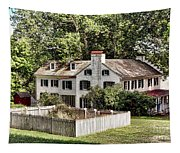 Ironmaster Mansion At Hopewell Furnace  Tapestry