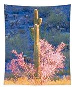 Ironwood Saguaro Dance Tapestry
