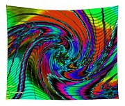 Irritations Converging Into A  Swirl Catus 1 No. 1 H A Tapestry