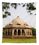 Isa Khan Tomb Burial Sites Tapestry