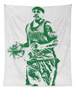 Isaiah Thomas Boston Celtics Pixel Art Tapestry