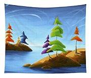 Island Carnival Tapestry