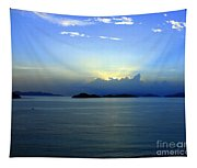 Islands In The Sunrise Tropical Paradise Tapestry