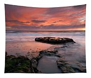 Isle Of The Setting Sun Tapestry