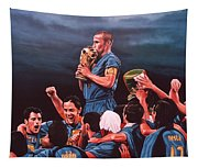 Italia The Blues Tapestry