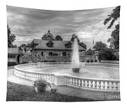 Italian Fountain Maymont B And W Tapestry