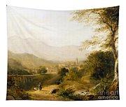 Italian Landscape Tapestry