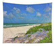 It's A Beach Kind Of Morning Tapestry