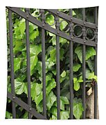 Ivy And Gate Tapestry