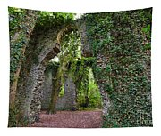 Ivy Clad Ruin Tapestry