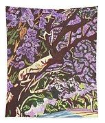 Jacaranda Avenue Tapestry