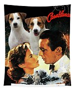 Jack Russell Terrier Art Canvas Print - Casablanca Movie Poster Tapestry