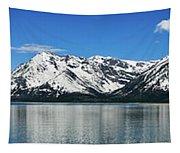 Jackson Lake Teton Panorama Tapestry