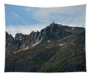 Jagged Mountain Tapestry