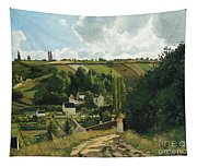 Jalais Hill At Pontoise Tapestry