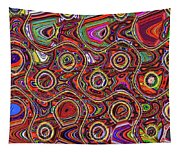 Janca Abstract Panel #097e10 Tapestry